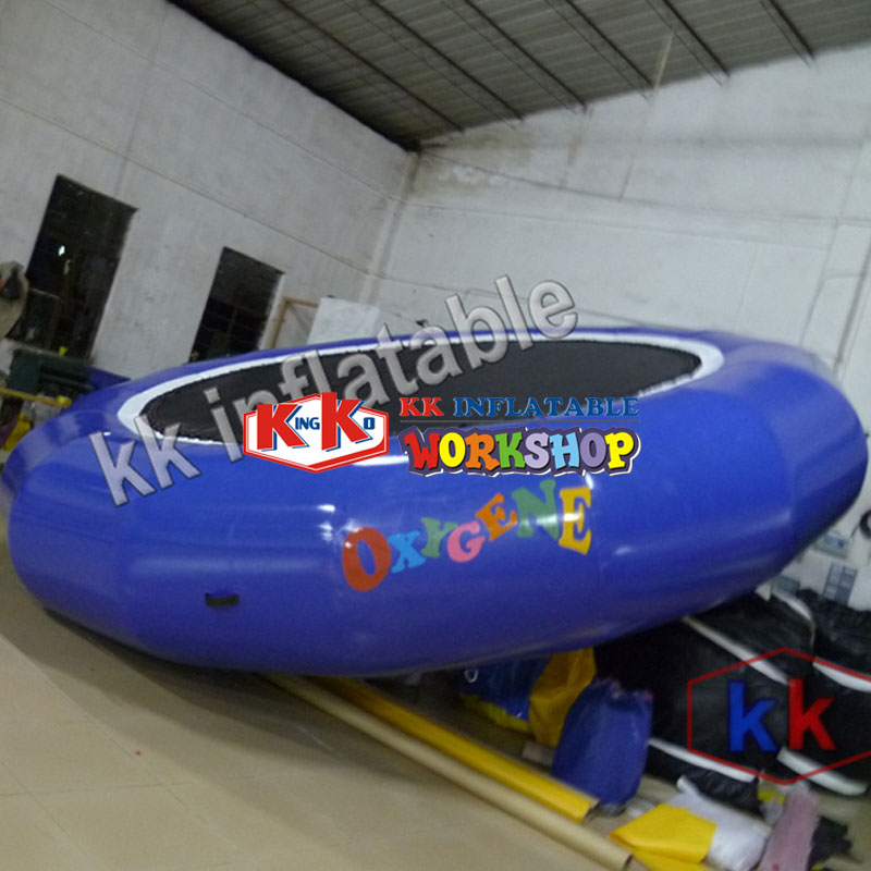 Inflatable Pvc Jumping Bed Trampoline Gymnastics Trampoline Water Jumper