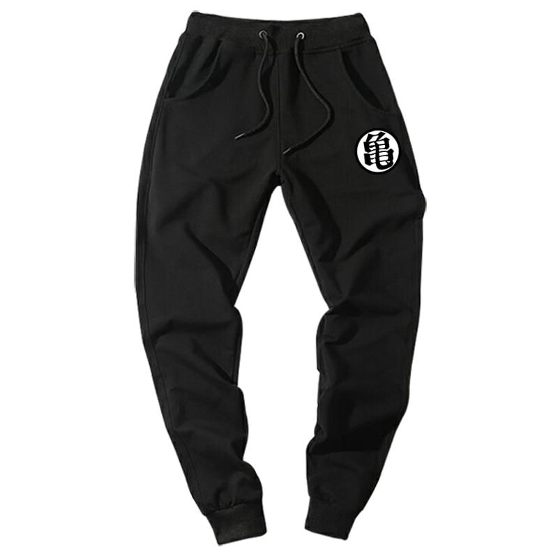 Casual Funny Print Dragon Ball Goku Mens Pants Cotton Autumn Winter Gray Men Joggers Sweatpants Plus Size Black Trouser Pantalon #5