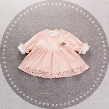 ZTXRHS Glizt Baby Girl White Ball Gown Christening Gowns