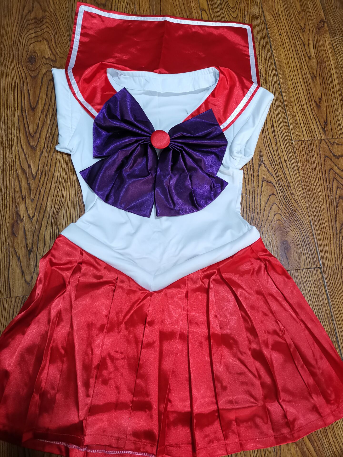 Sailor Moon Anime cosplay Sailor Mars Hino Rei Unisex Harajuku Halloween party cosplay costumes sets Can be customized-in Anime Costumes from Novelty & Special Use    3
