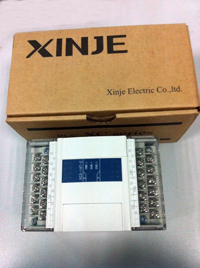 XC3-14T-E XINJE XC3 Series PLC AC220V DI 8 DO 6 Transistor new in box xc e8x8yt xinje xc series plc digital i o module di 8 do 8 transistor new in box