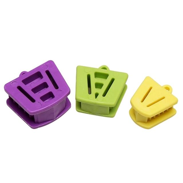 Nuevo 3 piezas Dental boca apoyo bloque de mordedura cojín abridor de suministro Dental Retractor Grande Mediano pequeño