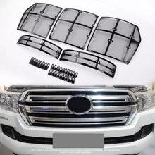Filet de calandre en acier inoxydable pour Toyota Land Cruiser 2012, accessoires pour voiture, LC200 FJ200, 2019 – 200