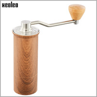 xeoleo-high-quality-manual-coffee-grinder-45mm-aluminum-coffee-miller-blackbrownsilver-15g-mini-coffee-milling-machine