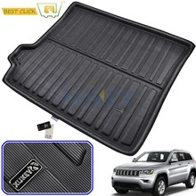 Car Rear Trunk Liner Cargo Boot Mat For Jeep Grand Cherokee WK2 2011 - 2019 Floor Tray Carpet Mud Kick(China)