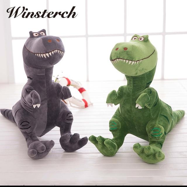2018 Realista Adorável Dinossauro Bonito Dos Desenhos Animados Boneca de  Pelúcia Brinquedos de pelúcia Bicho de eb93512d93b