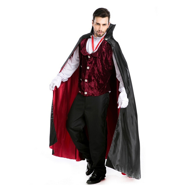 Costume Clothing Count Dracula Mens Costume Castlevania V&ire Halloween Fancy Dress Costume Dracula Cosplay Full Body  sc 1 st  AliExpress.com & Costume Clothing Count Dracula Mens Costume Castlevania Vampire ...