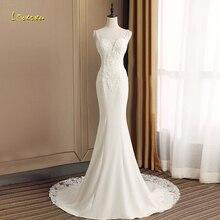 Loverxu Vestido De Noiva Sweetheart Mermaid Wedding Dresses