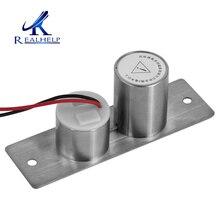 高セキュリティロック電源オンオープンフェイルセーフ簡単にインストールするため外部ドアフレームエネルギー deadbolts ドア