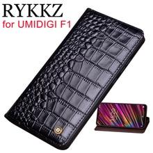 RYKKZ Натуральная кожа флип чехол для UMIDIGI F1 Защитный чехол кожаный чехол для телефона чехол для UMIDIGI F1 Бесплатная доставка