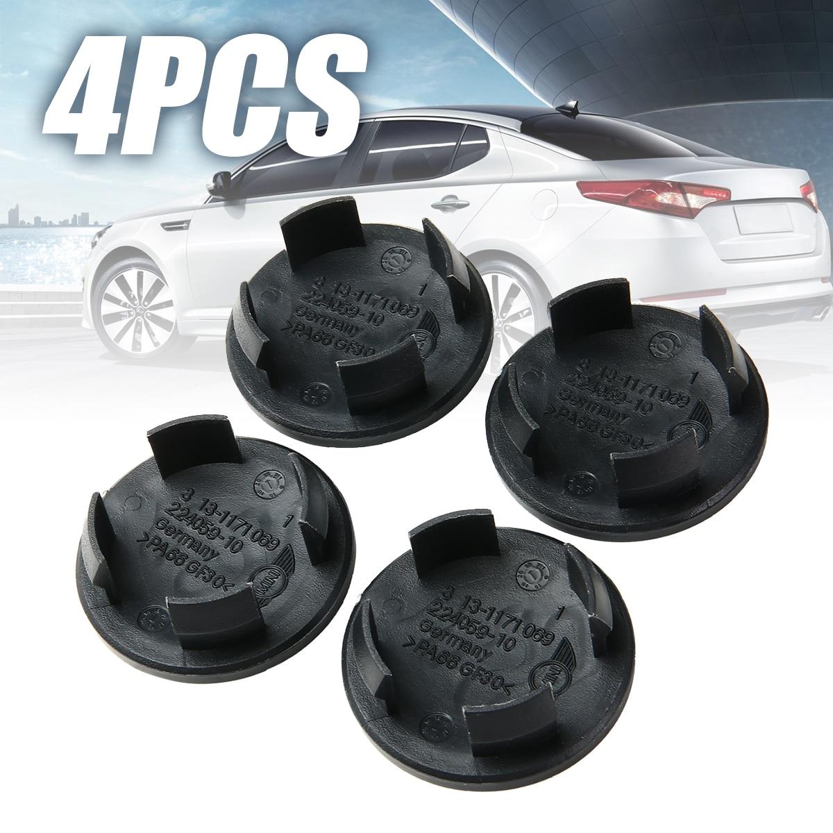 Wheels Tires Amp Parts 4pcs 54mm Black Car Wheel Center Hub