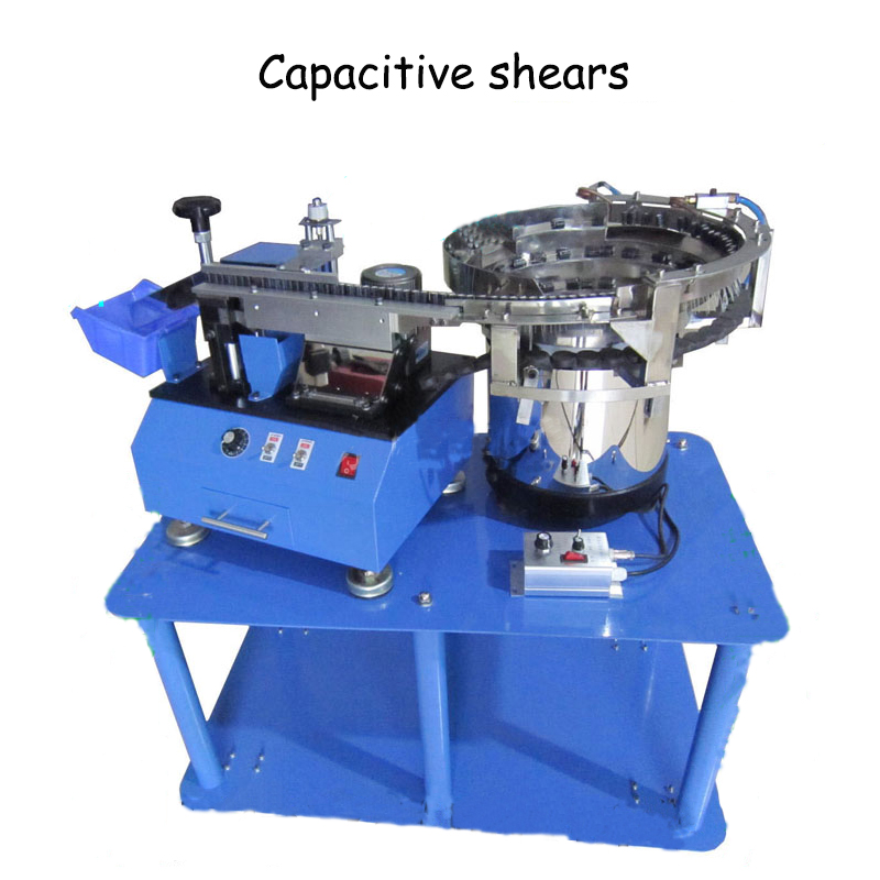 Automatic Bulk Capacitor Forming Machine LED Light Cutting Machine + Vibration Plate + Frame