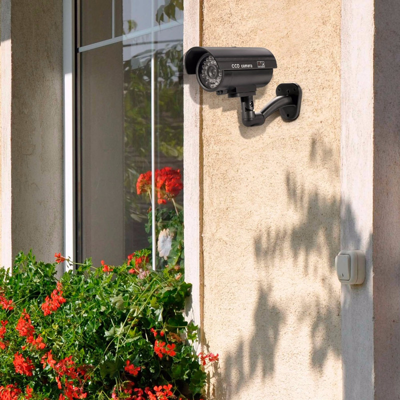 TL-2600 безопасности Водонепроницаемая наружная внутренняя поддельная камера муляж системы безопасности CCTV камера видеонаблюдения Ночная ка...