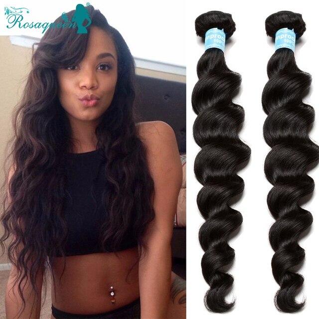 Pilipino Loose Wave Virgin Hair 3pcs/Lot Rosa Queen Hair Products Pilipino Virgin Hair Loose Wave Virgin Hair Free Shipping