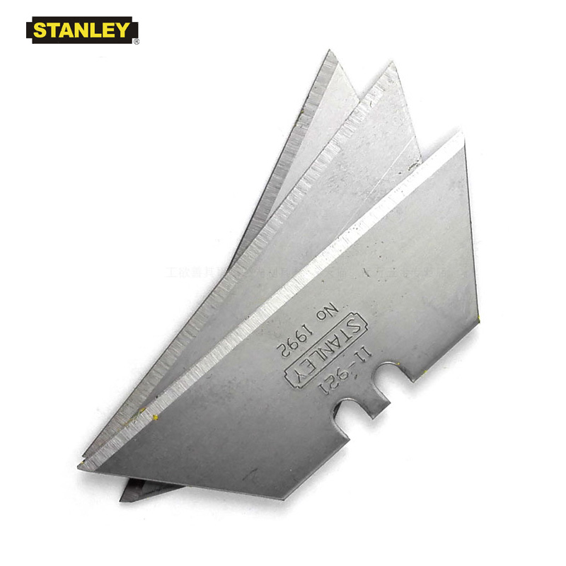 Stanley 11-921 1992 heavy duty utility knife blade blanks multi-purpose brand blades replacement for knives 7 pack wholesale