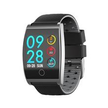 QS05 Smartwatch Bluetooth Waterproof Sport Smart Bracelet Blood Pressure 1.3inch Color Screen Fitness Tracker Message Push