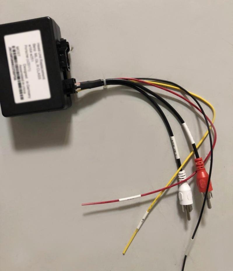 цена на Optical Fiber Box Adapter for Mercedes-Benz ML Class W164 / ML350 / C Class W203/G Class W463 Car Stereo DVD GPS Navigation