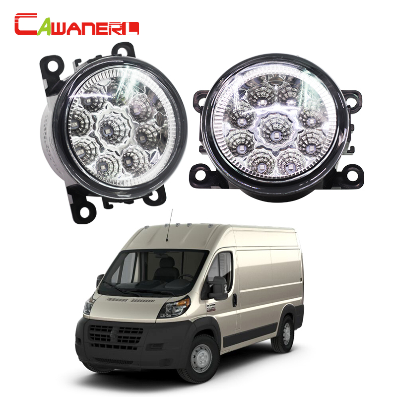 Cawanerl Car Styling LED Bulb Fog Light Daytime Running Light DRL 1 Pair For RAM PROMASTER 1500 2500 3500 2014 блендер погружной bosch msm14200