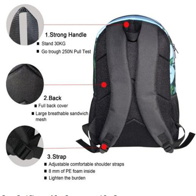 3D Horse Backpacks