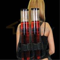 Mochila Dispensador de Doble Bomba liquid Shot Beber Cerveza PUB Beer Machine Gun kit nuevo llegado