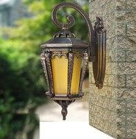 Высокая конец Настенные светильники наружного освещения водонепроницаемый настенный светильник напольный светильник садовые фонари соде