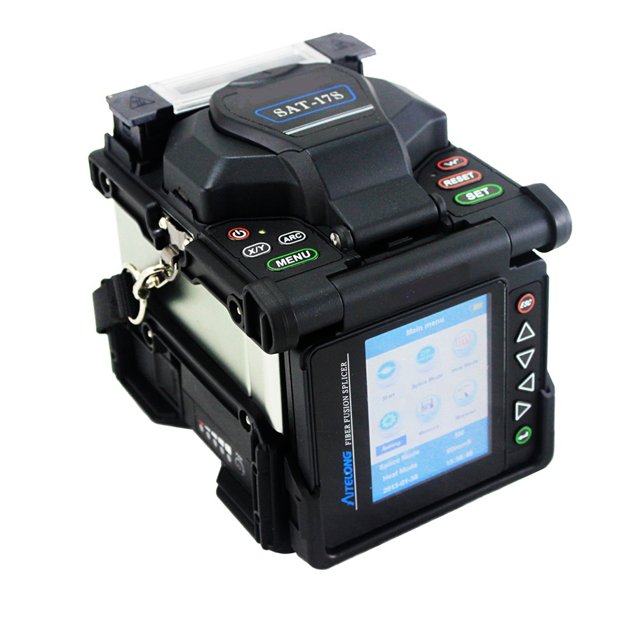 High Quality Six Motors SAT-17S Optical Fiber Fusion Splicer Splicing Machine