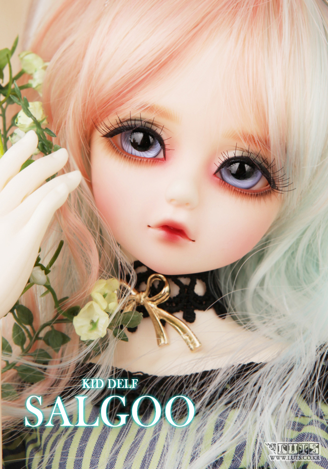 1/4 scale BJD lovely kid BJD/SD sweet cute girl salgoo cherry Resin figure doll DIY Model Toys.Not included Clothes,shoes,wig 1 4 scale bjd lovely kid bjd sd sweet cute girl luts qi c cherry figure doll diy model toys not included clothes shoes wig