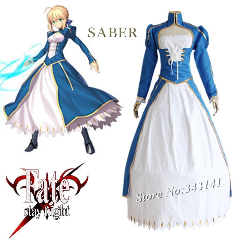 saber cosplay jelmezek harci ruha japán anime játék Sors / - Jelmezek