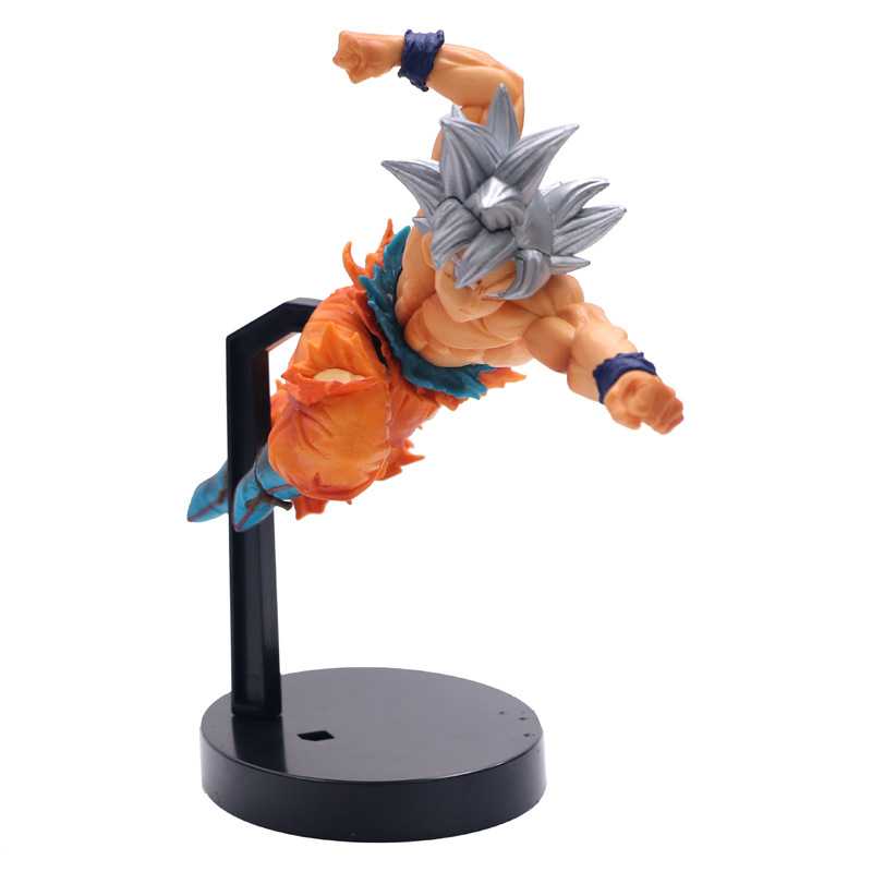 Anime Dragon Ball Z Super Ultra Instinct Son Goku BWFC Figure Model Collection Toys 15cm