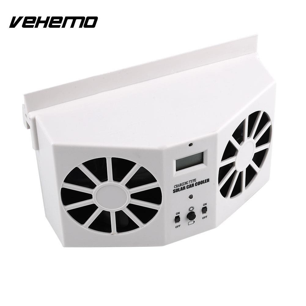 aliexpress : buy vehemo mini solar power car air vent fan air