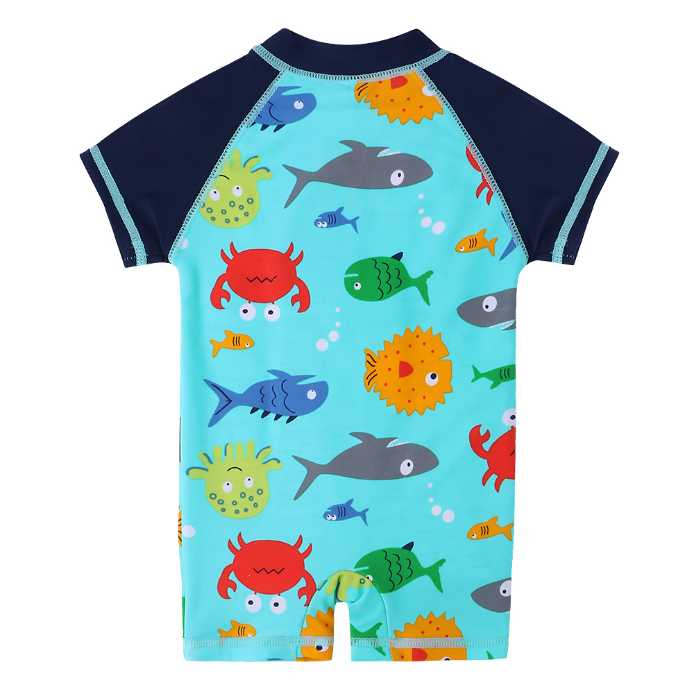 4ae16022fb BAOHULU Boys Swimwear Cute Kids Baby Swimsuit with Cartoon Pattern Toddler Boy  Bathing Suit One Pieces Swim Wear for Children - aliexpress.com - imall.com
