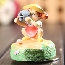 Anime Tonari No Totoro Music Box Mei 1/10 scale Painted Figure PVC Action Figure Collectible Toy 8cm KT1239
