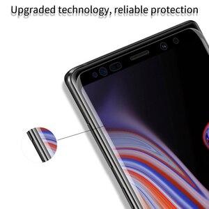 Image 4 - Vetro temperato per Samsung Galaxy Note 8 9 S9 S9 + Plus Nillkin DS + MAX Piena Colla Protezione Dello Schermo sfor Samsung Nota 9 3D di Vetro