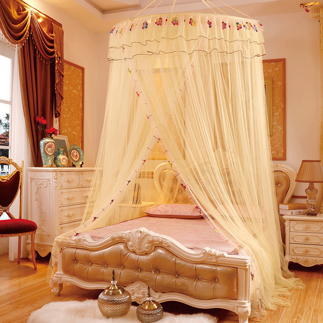 Large Size Ceiling Net Mosquito Net for Double Bed Fine Mesh Bed Canopy Curtains for Adults : mesh bed canopy - memphite.com