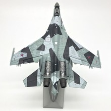 1:72 Scale Model Su-35 alloy diecast plane model Military toy hobby free shipping special 32 cm su 30 alloy fighter model su 30 su 30 aircraft model gold plated 1 70 air force of the cpla