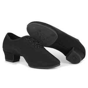 Image 4 - New Brand Men Latin Dance Shoes Ballroom Jazz Tango Sneaker Dance Shoes Men Shoes Man dancing For Boy Dance Sneaker EU30 45
