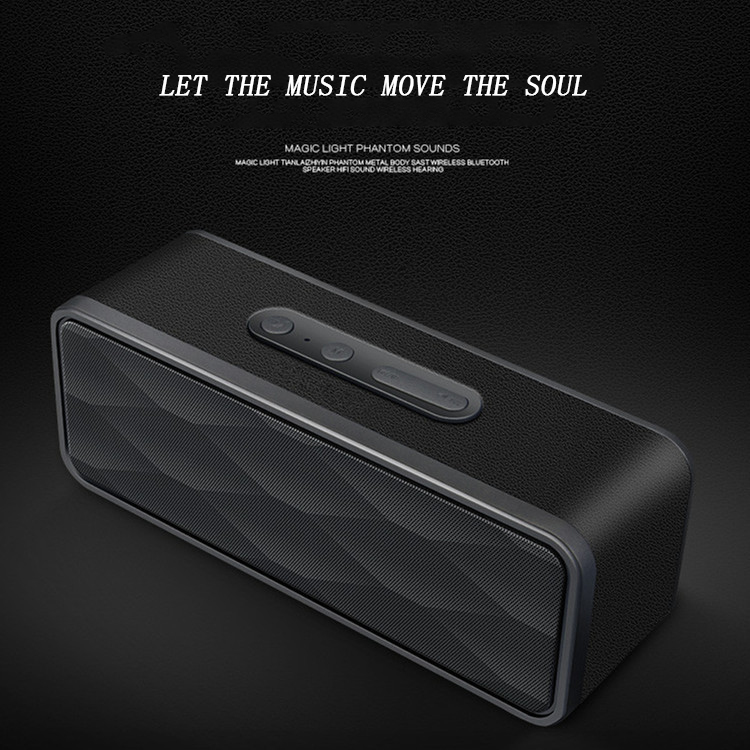 Mini Wireless Bluetooth Speaker Portable High Power Subwoofer Bluetooth Hands Free FM Radio and TF Card Speakers Computer