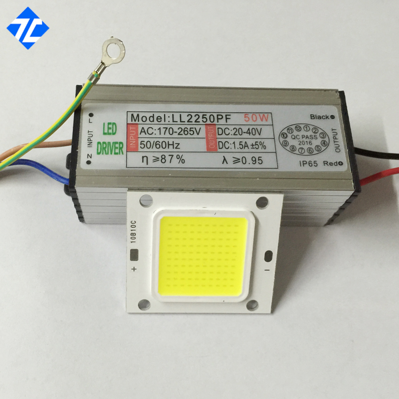 High Power Taiwan Real 10W 20W 30W 50W 100W COB LED Lamp