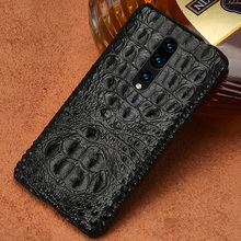 100% Genuine Crocodile Leather Phone case For Oneplus 7 Pro 6 6T 5T 5 Covers Luxury marvel Cases for One Plus 7Pro