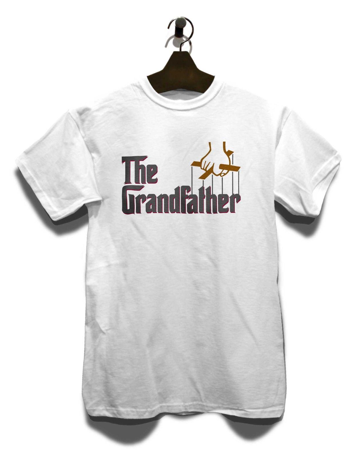 Grandfather T-Shirt Fun Pate Film Bedruckt Geschenk