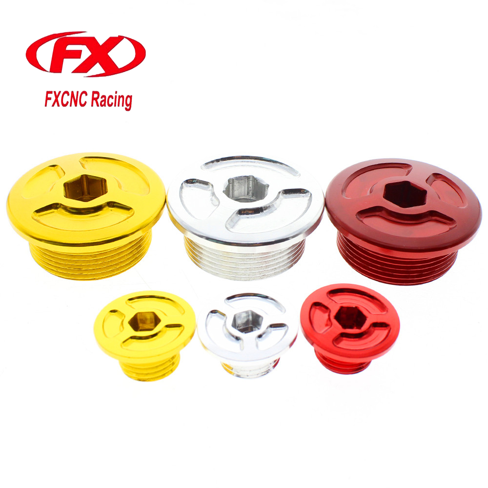 FX CNC Motorcycle Engine Access Cap Cover For Honda CBF125 CBF150 CBF 125 150 Moto Accessories ...