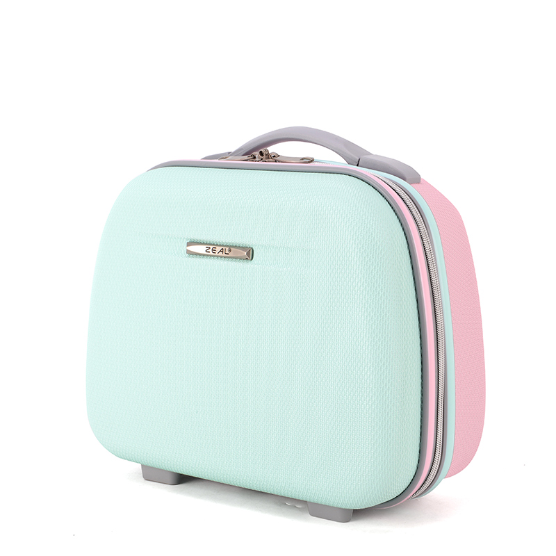 Women Bag Fashion Light Suitcase 13 Inches Mini Zipper Lady Business ABS Cosmetic Bag Suitcase For