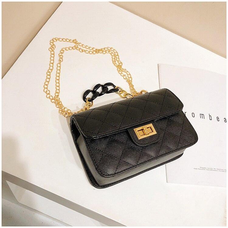 Luxury Women Classic handbag Designer Pink Blue Gradient PU Leather Lingge Shoulder Bag (4)