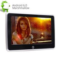 10.1 дюймов Android 6.0 емкостный Сенсорный экран сзади автомобиля подголовник сиденья плеер Wi Fi Поддержка USB SD HDMI 1080 P видео развлечения m