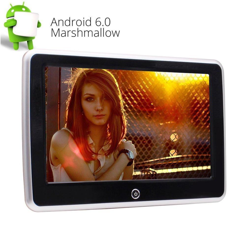6,0 дюймов Android 10,1 емкостный сенсорный экран автомобиля заднего сиденья подголовник плеер Wifi Поддержка USB SD HDMI 1080 P видео развлечения M