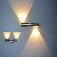 Indoor Led Wall Lamp 2W 6W Epistar Chip Modern Home Decoration 360 Degree Rotation Wall Sconce