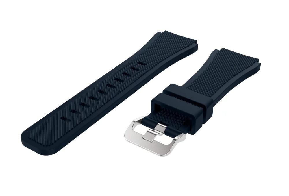 Correa de reloj de pulsera de silicona deportiva para Samsung Gear S3 - Accesorios para relojes - foto 6
