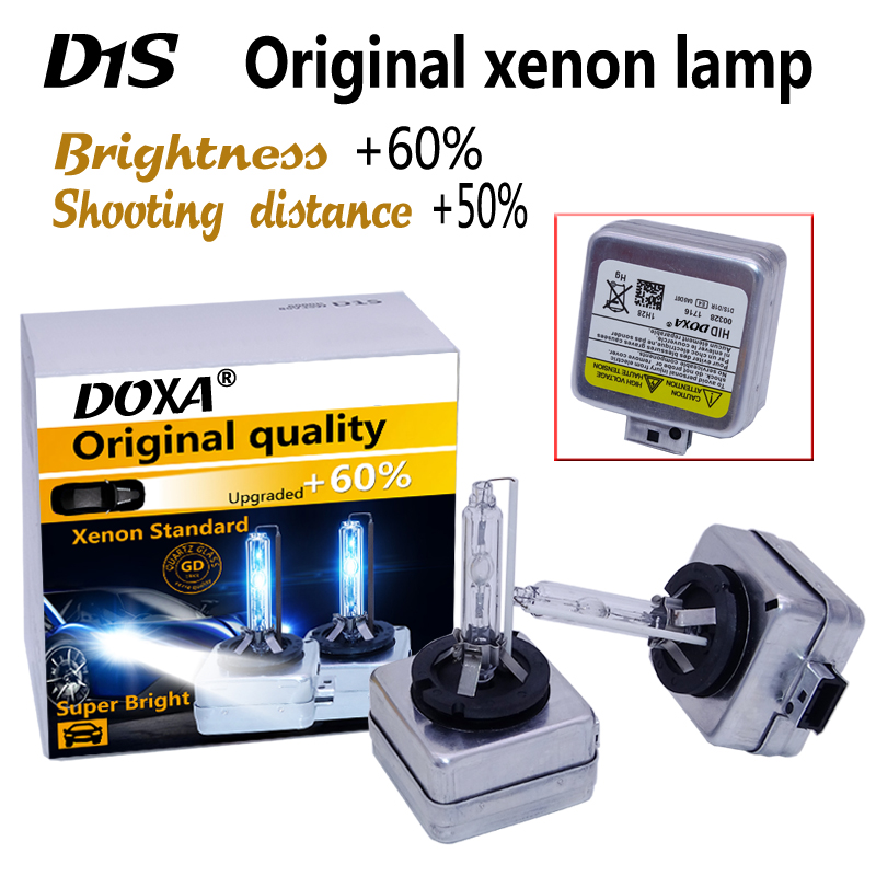 Free shipping D1S HID xenon bulb 35W super brightness and longer life 4300K,6000K,8000K D1S Xenon Factory Promotion D1S
