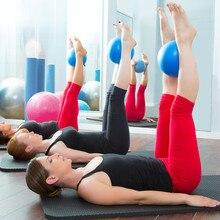 25 см фитнес-пилатес мяч баланс взрывозащищенный ПВХ мяч для йоги упражнения тренировки тренажерный зал Йога Ядро Мяч тренировочный инструмент для помещений Crossfit