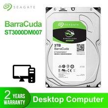 Seagate 3 ТБ настольный жесткий диск внутренний жесткий диск Оригинал 3,5 »3 ТБ 5400 RPM SATA 6 ГБ/сек. жесткий диск для компьютера ST3000DM007